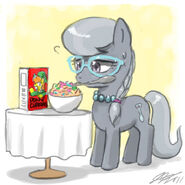 Silver Spoon vs The Cereal by johnjoseco