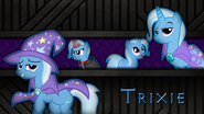 Trixie wallpaper by artist-meteor-venture