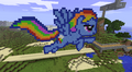 FANMADE Rainbow Dash Minecraft v3.png