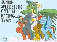 MLP - junior speedsters reunion by yoorporick
