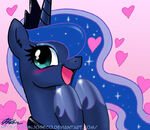 Cute Priness Luna by artist-johnjoseco