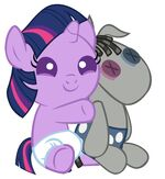 Baby Twilight Sparkle and Smarty Pants