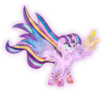 Crystal mark rainbow magic starlight glimmer by kimberlythehedgie