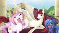 84941 - artist-lovemimi Celestia Code Geass filly Lauren Faust Luna mother mare the queen Woona