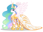 Princess Celestia's Grand Galloping Gala dress