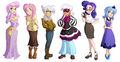 Assorted Pony Lineup by Ric-M.jpg
