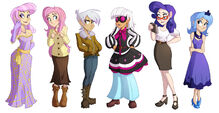 Assorted Pony Lineup by Ric-M