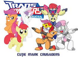 Cutie Mark Crusaders Transformers