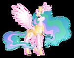 Princess Celestia by artist-equestria-prevails