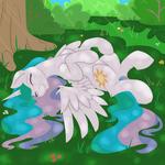 Princess Celestia happy by artist-geomancing