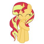 Sunset Shimmer is grateful by shadcream4eva