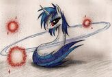 Vinyl Scratch wallpaper by artist-vulpessentia