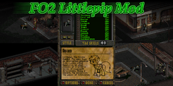 Fallout 2 Littlepip Mod by Donitz