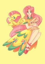 Fluttershy by sapphire1010