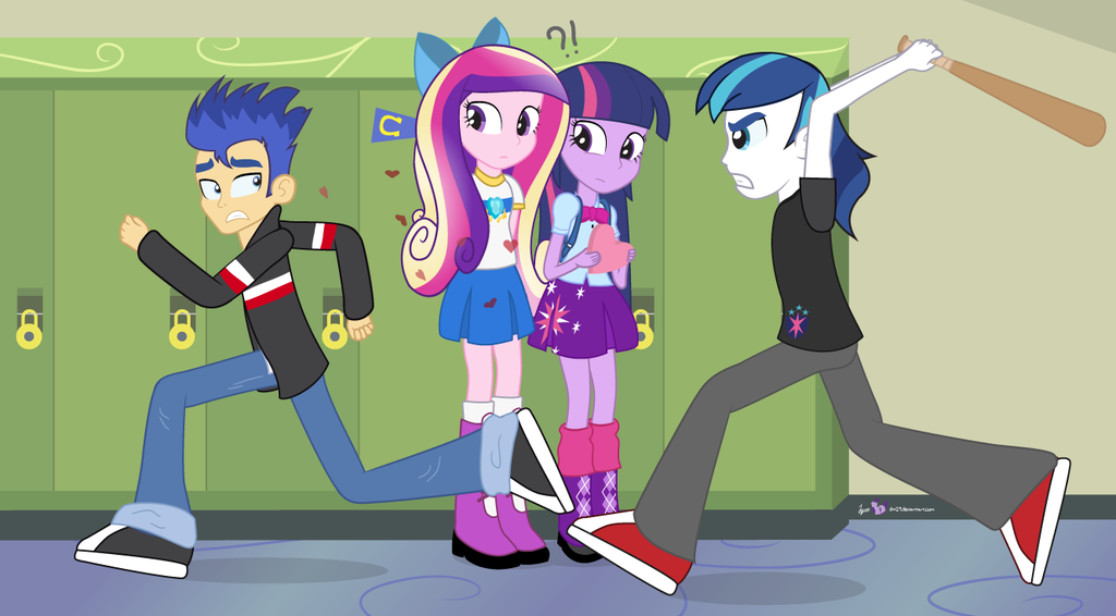 Princess Twilight Sparkle And Flash Sentry 14408 Loadtve