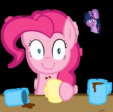 Pinkie Pie and Coffee