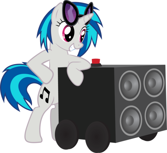 image vinyl scratch bass canon png my little pony fan labor wiki