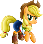 Applejack equestria girls casual clothes by beamsaber-d6r5z10
