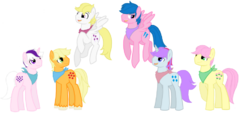 Genderswapped MLP G1 by JaquelinAmyRose