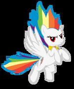 Super Rainbow Dash by geogo999