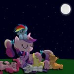 Mane 6 with Cadance