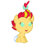 Baby Sunset Shimmer by MissPegasister