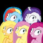 5 ponies has been Pinkamena Diane Pie