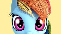 Rainbow Dash 3D rig by 2Snacks