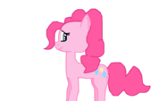 There once was a pink pony