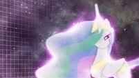 Princess Celestia background wallpaper by artist-mackaged