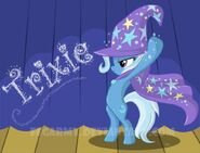 Trixie wallpaper by artist-fegarmy