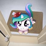 Princess Celestia by artist-averagedraw