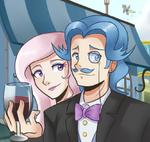 Fancypants and Fleur de Lis by Sallymon