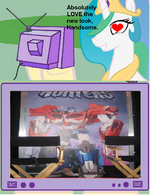 271283 UNOPT safe princess-celestia tv-meme transformers optimus-prime transformers-prime beast-hunters