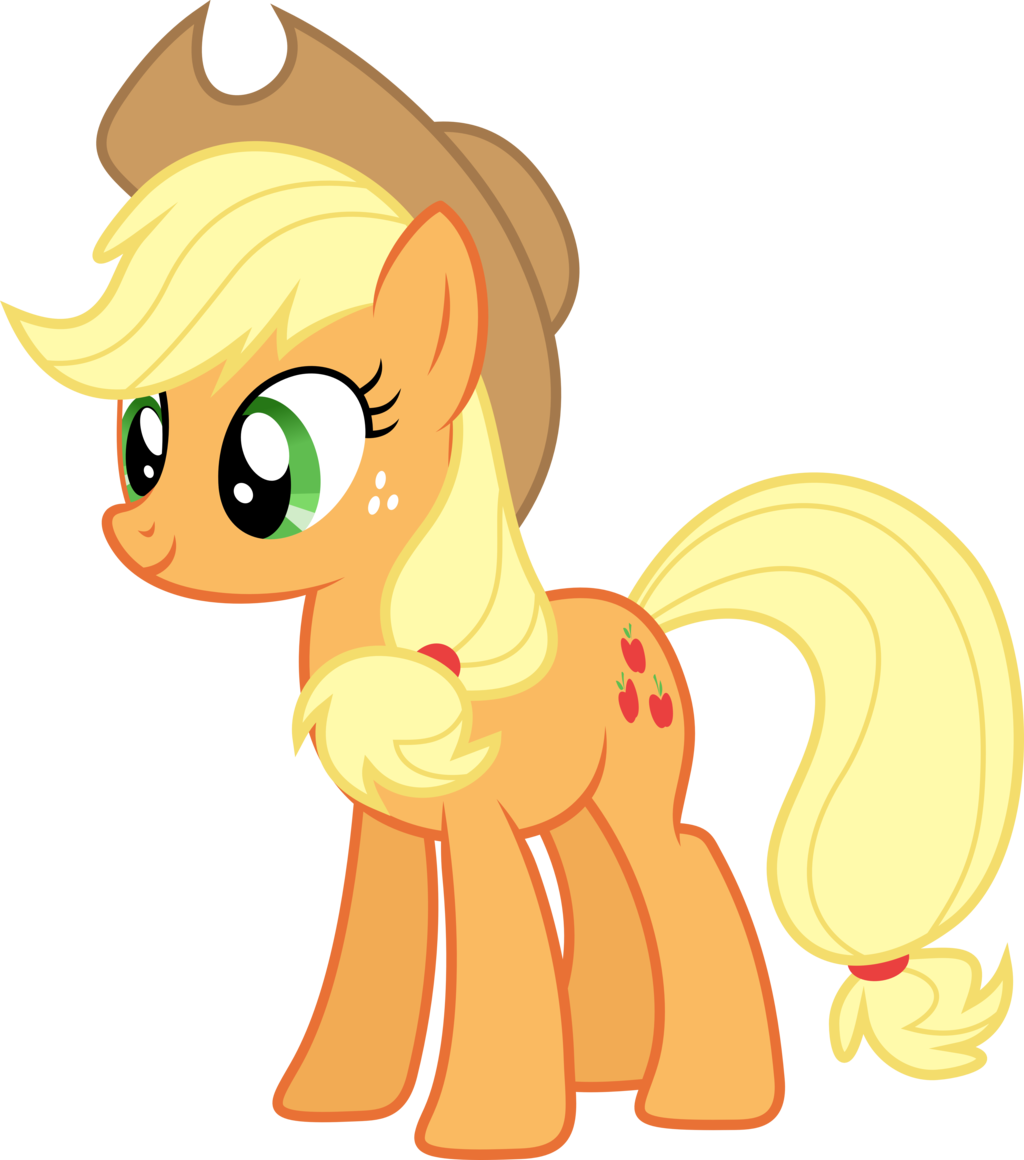 5594 applejack my little - photo #12