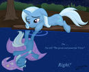 Trixie lost reflection
