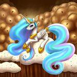 Princess Celestia by artist-polkin