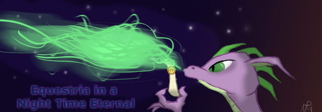 File:EqD Halloween Banner - SpikeFyre.png