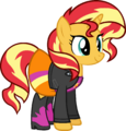 Sunset Shimmer Equestria Girls Clothing by Zacatron94.png