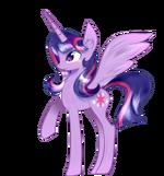 Alicorn Twilight Sparkle by artist-joshydesu