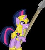Twilight Sparkle Royal Guard by artist-lightningtumble