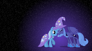Princess Luna and Trixie wallpaper by artist-mixermike622