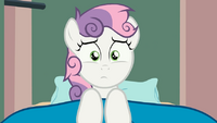 Sweetie Belle's horn it's gone