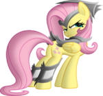 Armored Fluttershy by artist-ratchethun