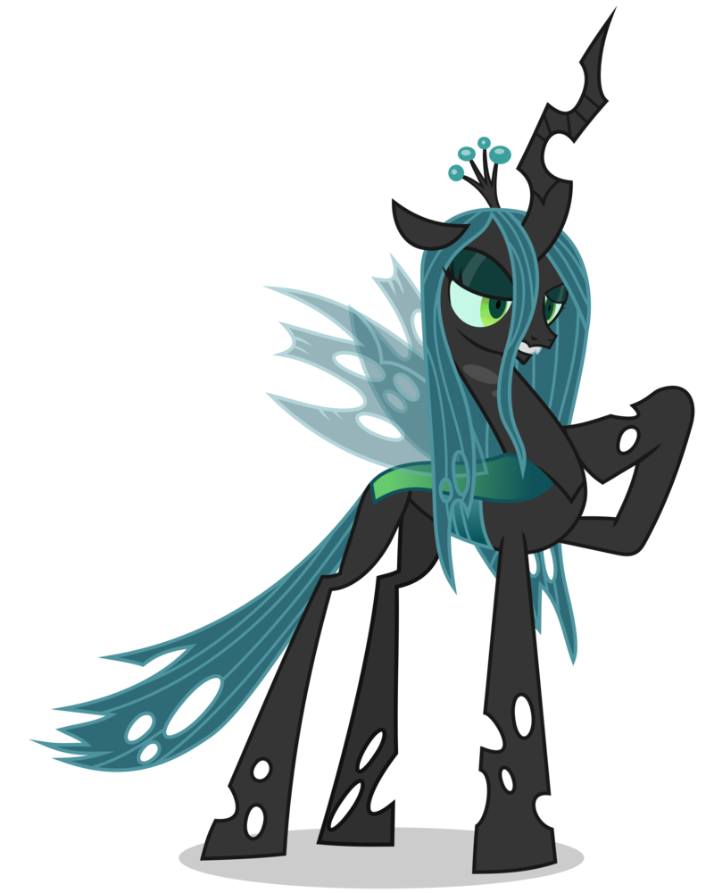 Queen chrysalis my little pony fan labor wiki fandom for Queen chrysalis coloring pages