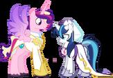 The wedding of Gleaming Shield and Prince Bolero