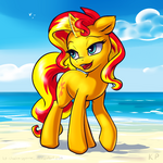 Speedpaint 27 - Sunset Shimmer by KP-ShadowSquirrel