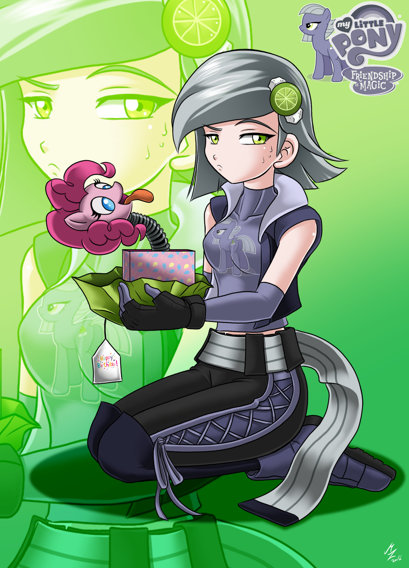 Image Limestone Pie By Mauroz Png My Little Pony Fan