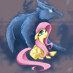 CRISIS Fluttershy by StarlightSpark