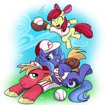 Luna vs baseball by CSImadmax